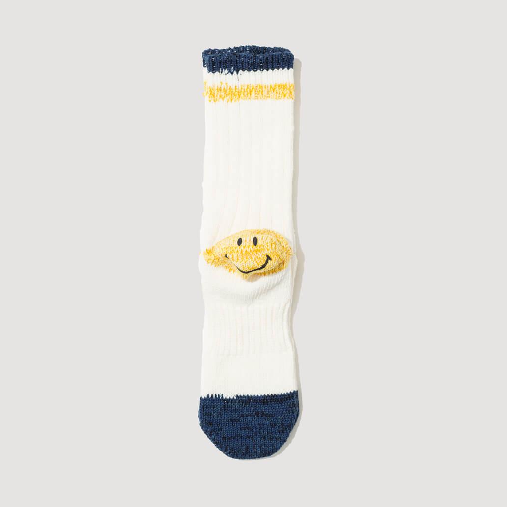 64 Yarns Ivy Smile Deeper Heel Pocket Socks - White