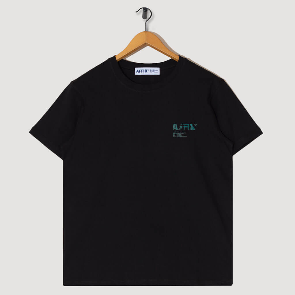 A.I. Standardised Logo Tee - Black