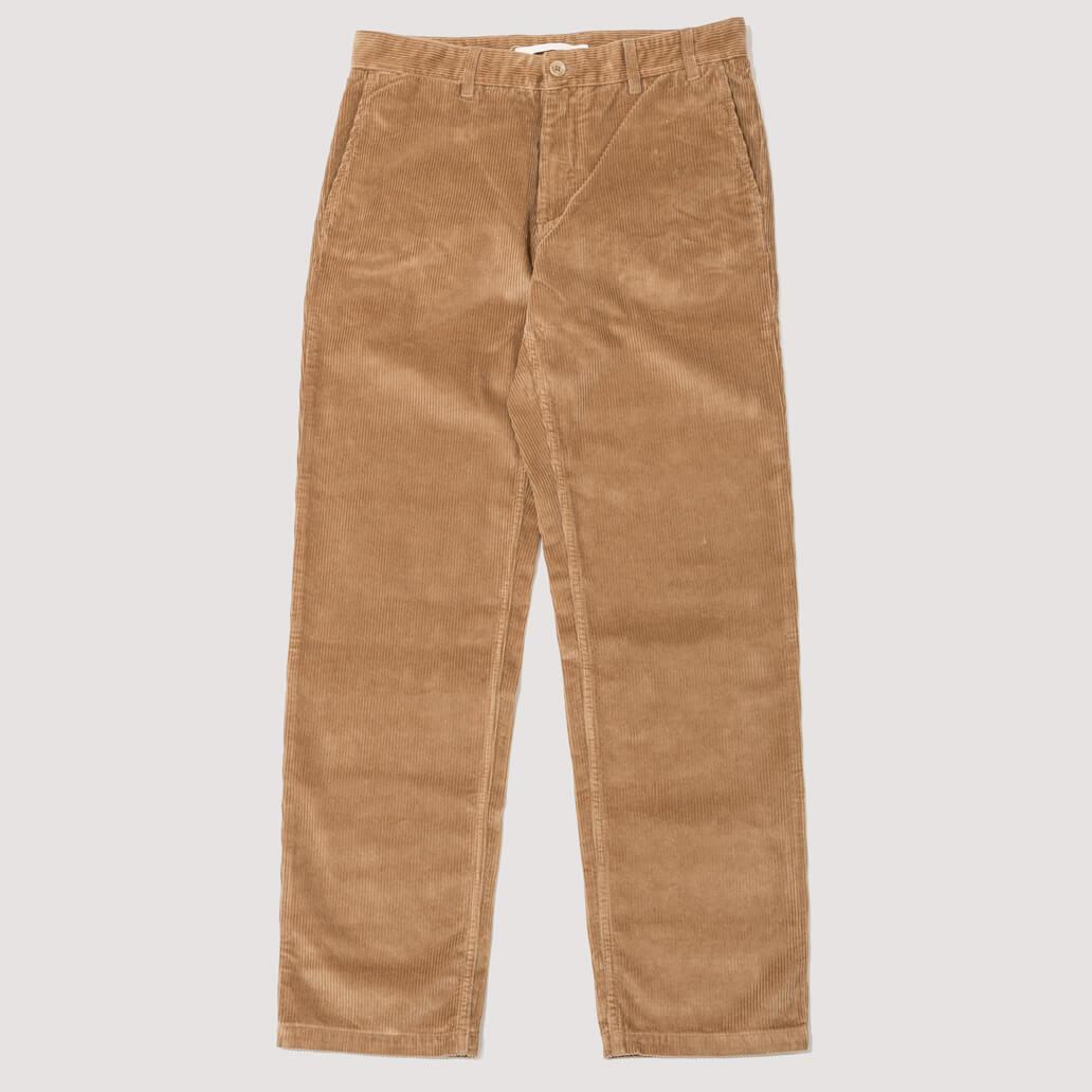 Aros Corduroy Trousers - Utility Khaki