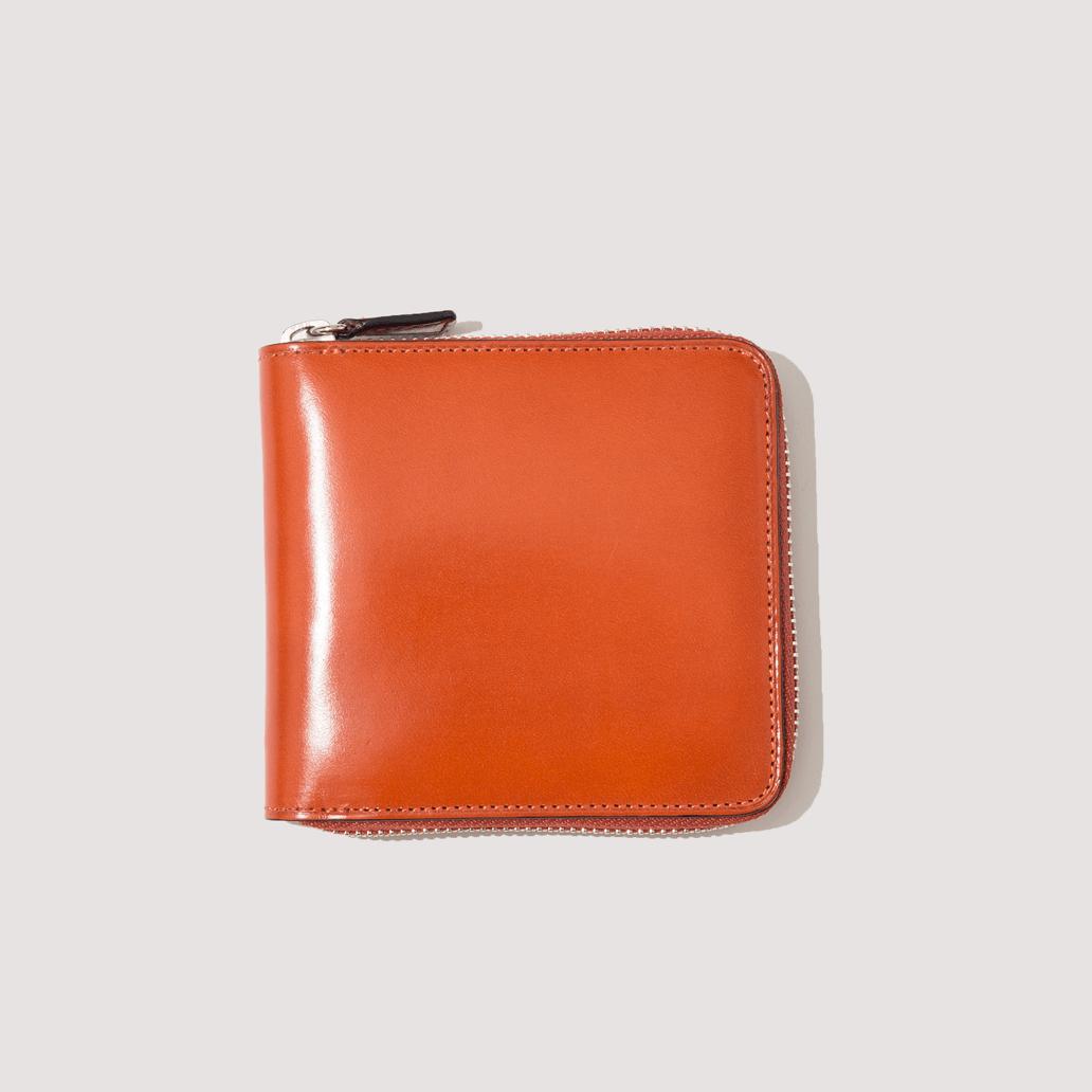 Bi-Fold Zip Wallet - Orange