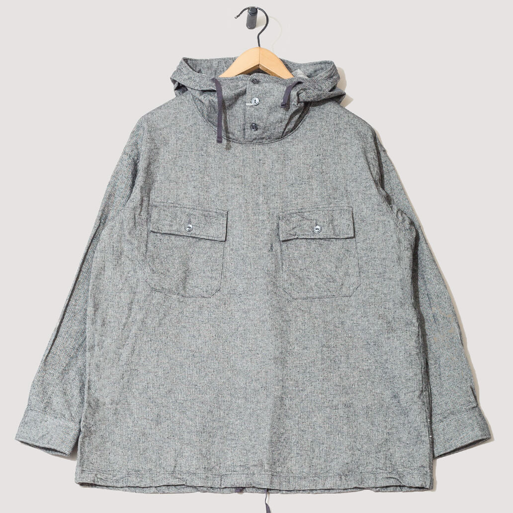 Cagoule Brushed Herringbone Shirt - Grey (Private)