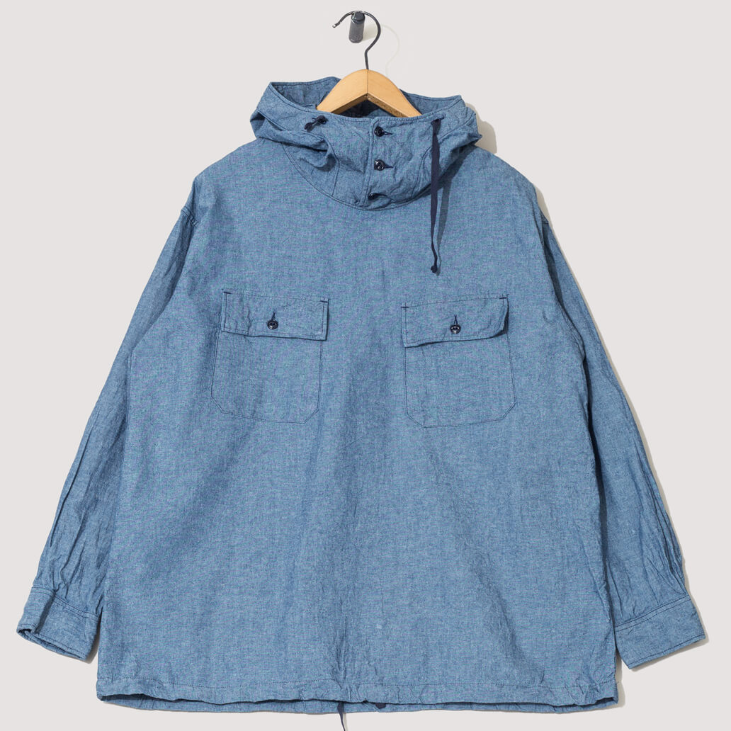 Cagoule Chambray Shirt - Indigo (Private)