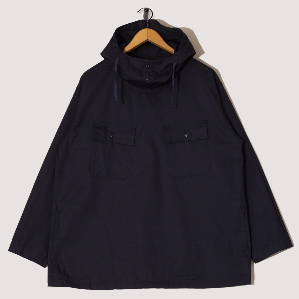Cagoule Shirt High Count Twill - Dark Navy