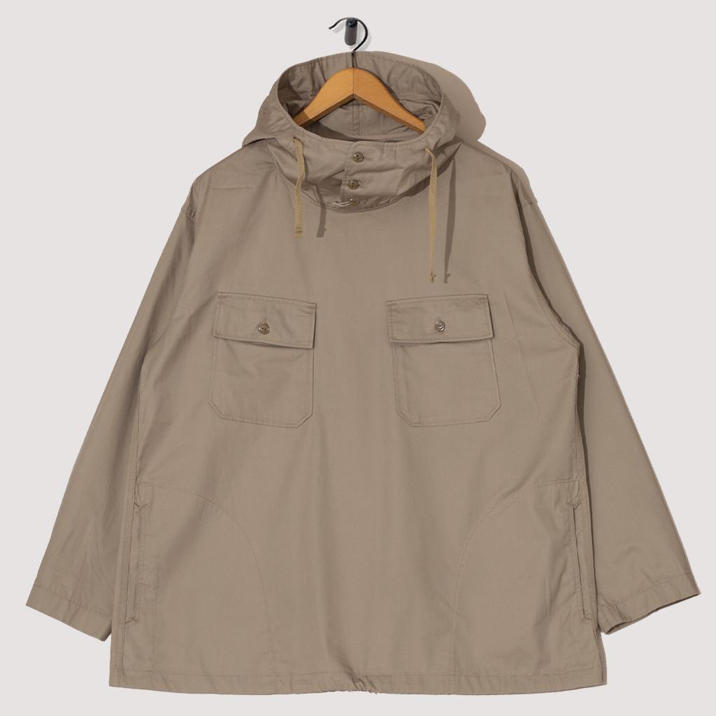Cagoule Shirt High Count Twill - Khaki