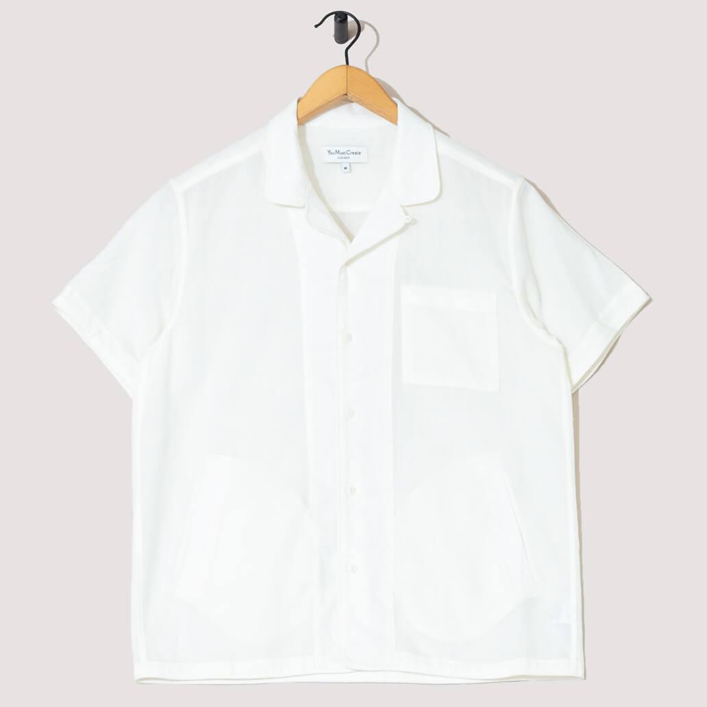 Chicano Cat's Meow Shirt - Cream