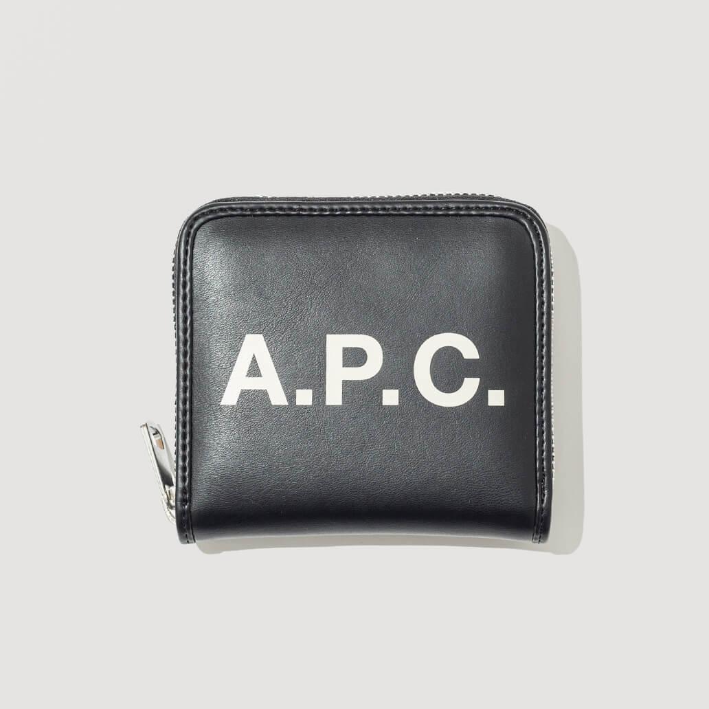 Compact Morgan Wallet - Noir