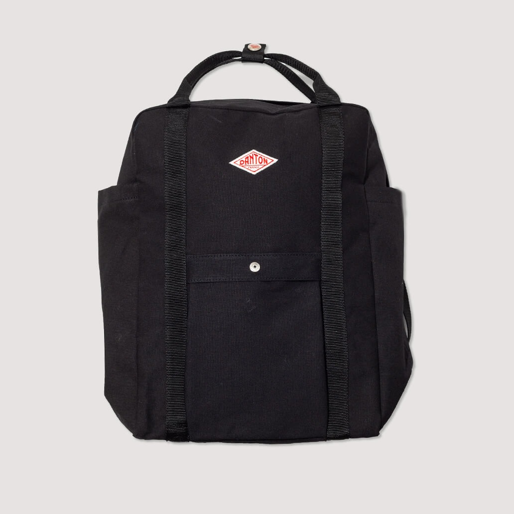 Cotton Canvas Bag - Black