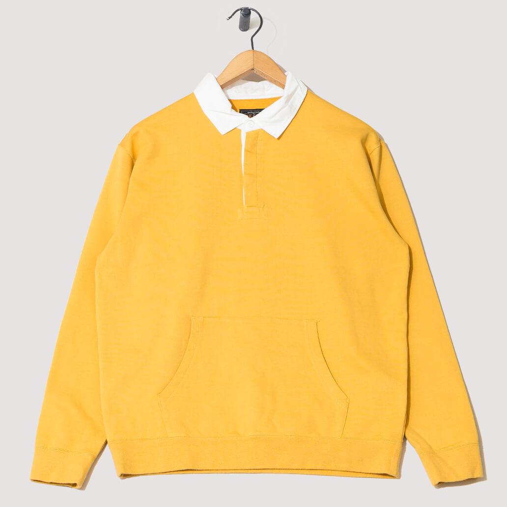 Cotton Pocket Rugger - Mustard