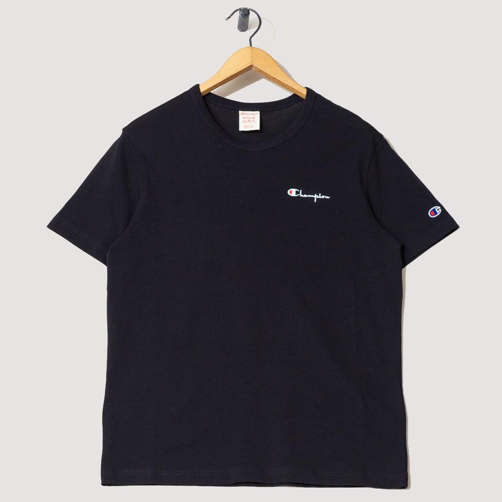 Crew Neck T-Shirt - New Black
