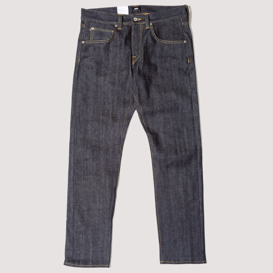 Ed-55 Red Listed Selvedge Denim - Blue Unwashed (Exclusive)