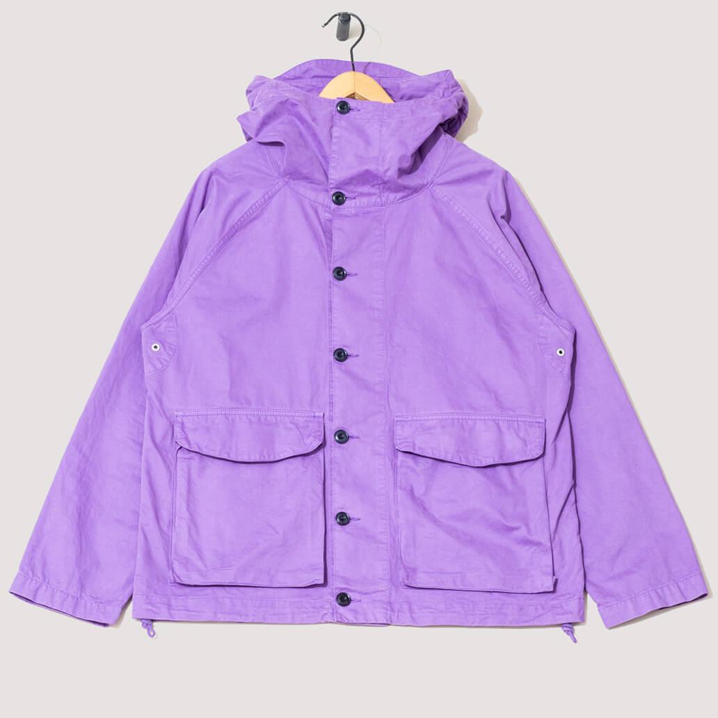 GD Military Hooded Parka - Purple
