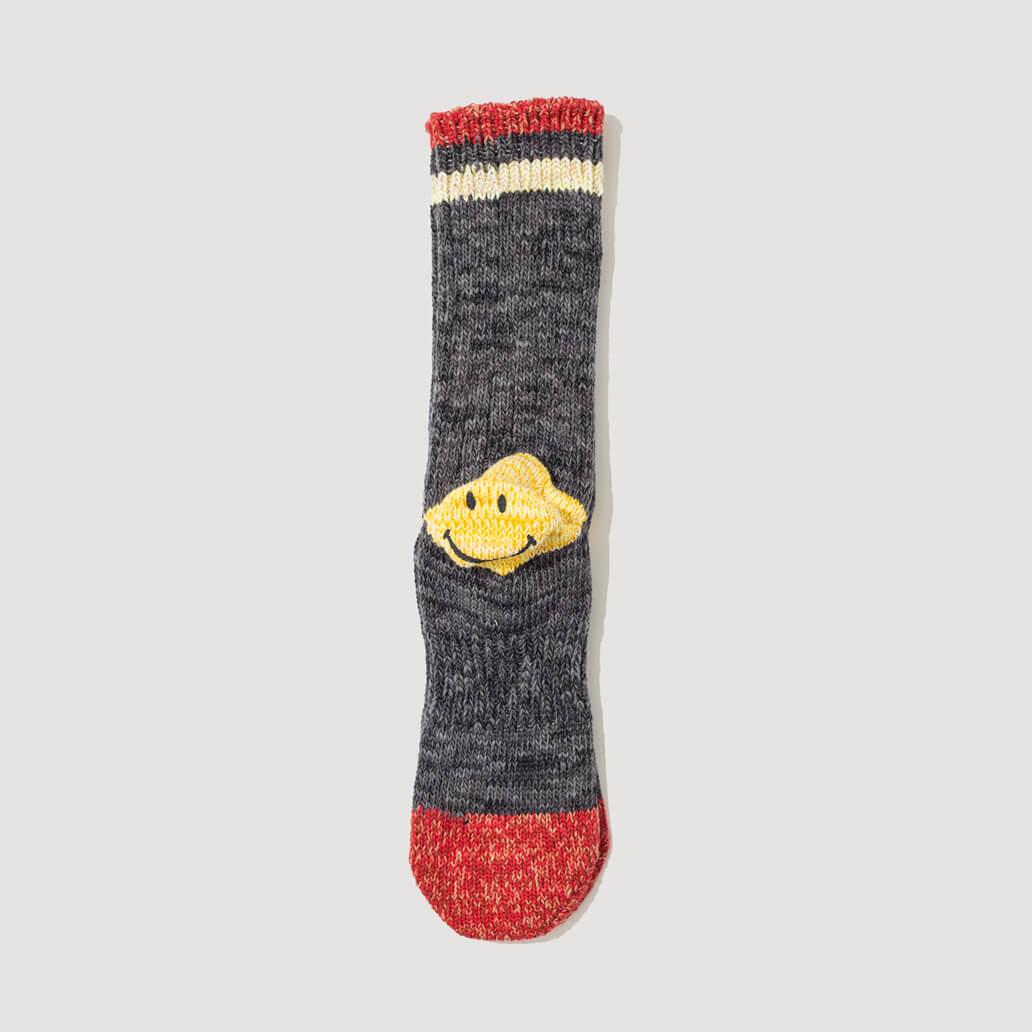 Heel Pocket Socks - Grey