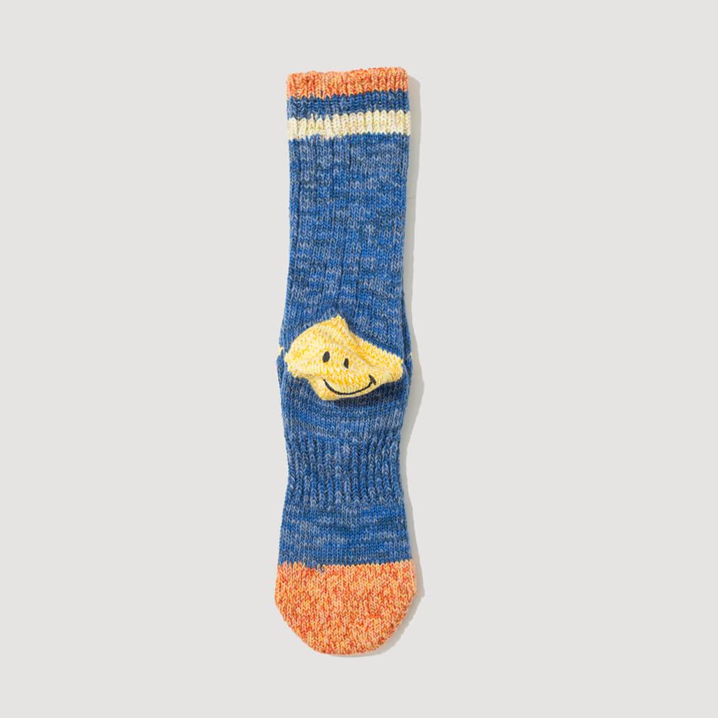 Heel Pocket Socks - Blue