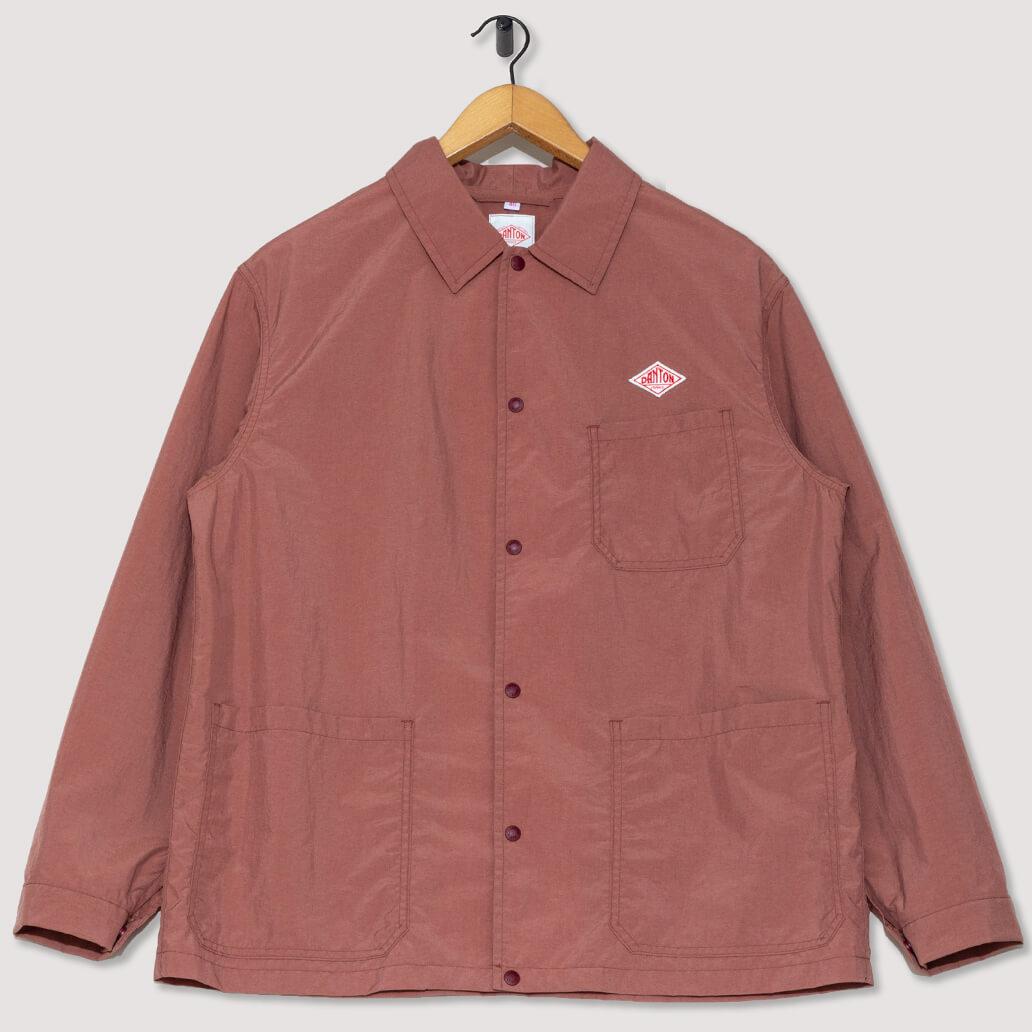 Nylon Tussah Jacket - Old Rose