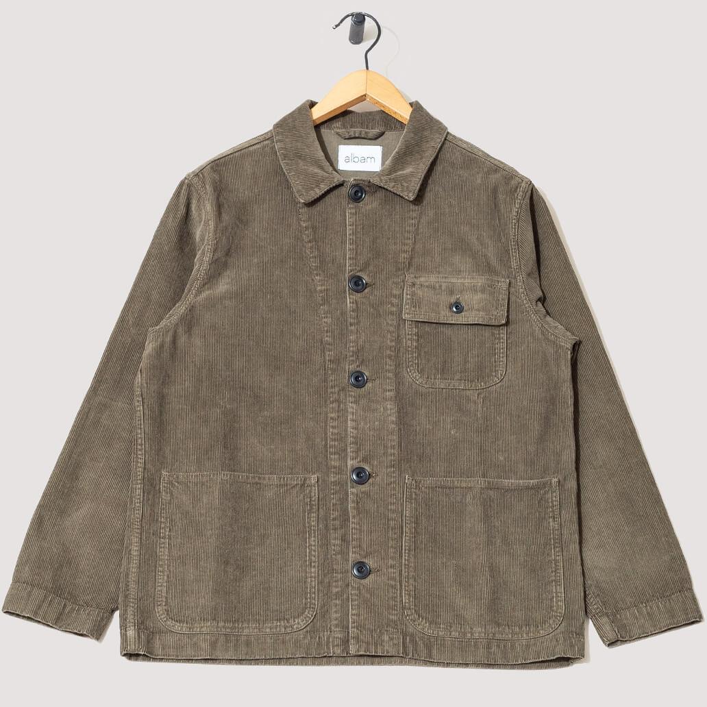 Railroad Work Jacket - Dark Olive
