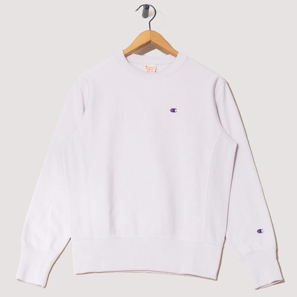 Reverse Weave Crew Neck Sweatshirt - Pink