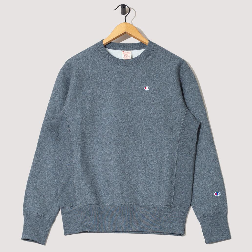 Reverse Weave Sweatshirt - Dark Grey