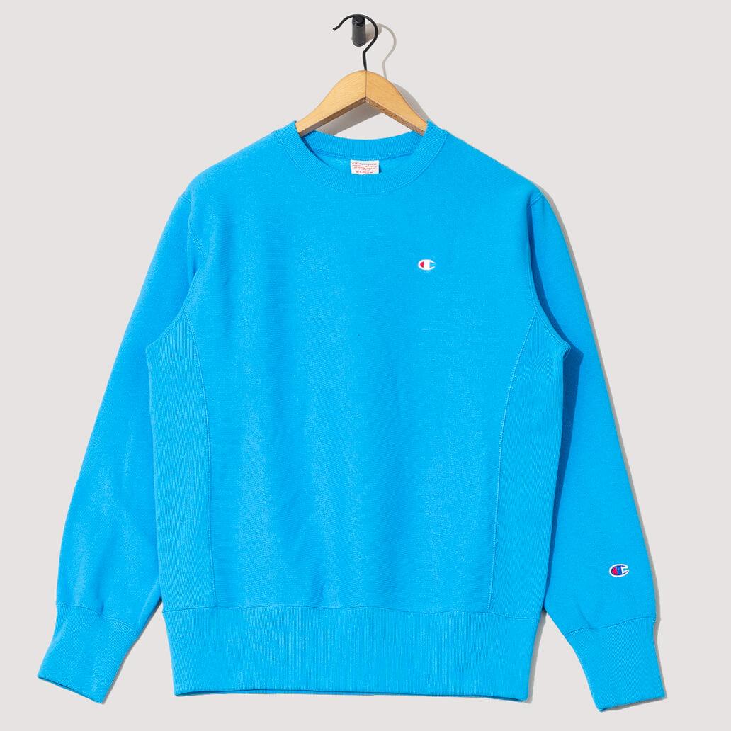 Reverse Weave Sweatshirt - Malibu Blue