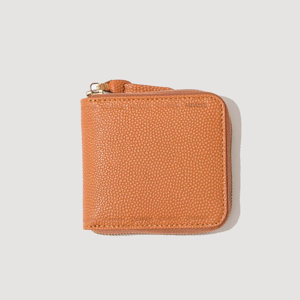Sixth Man Bi-Fold Wallet - Orange