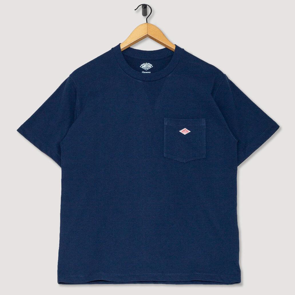 S/S Pocket Logo T-Shirt - Navy