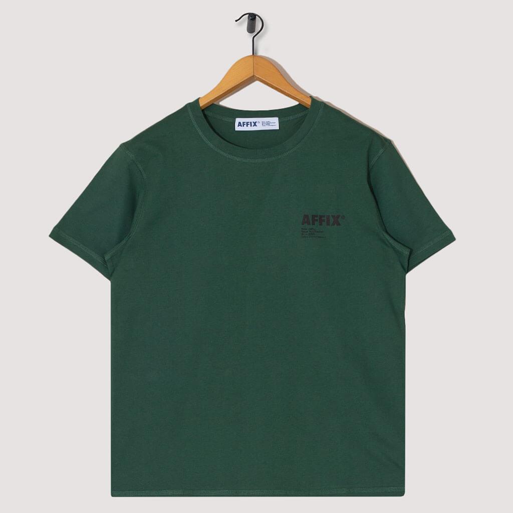 Standardised Logo Tee - Deep Green