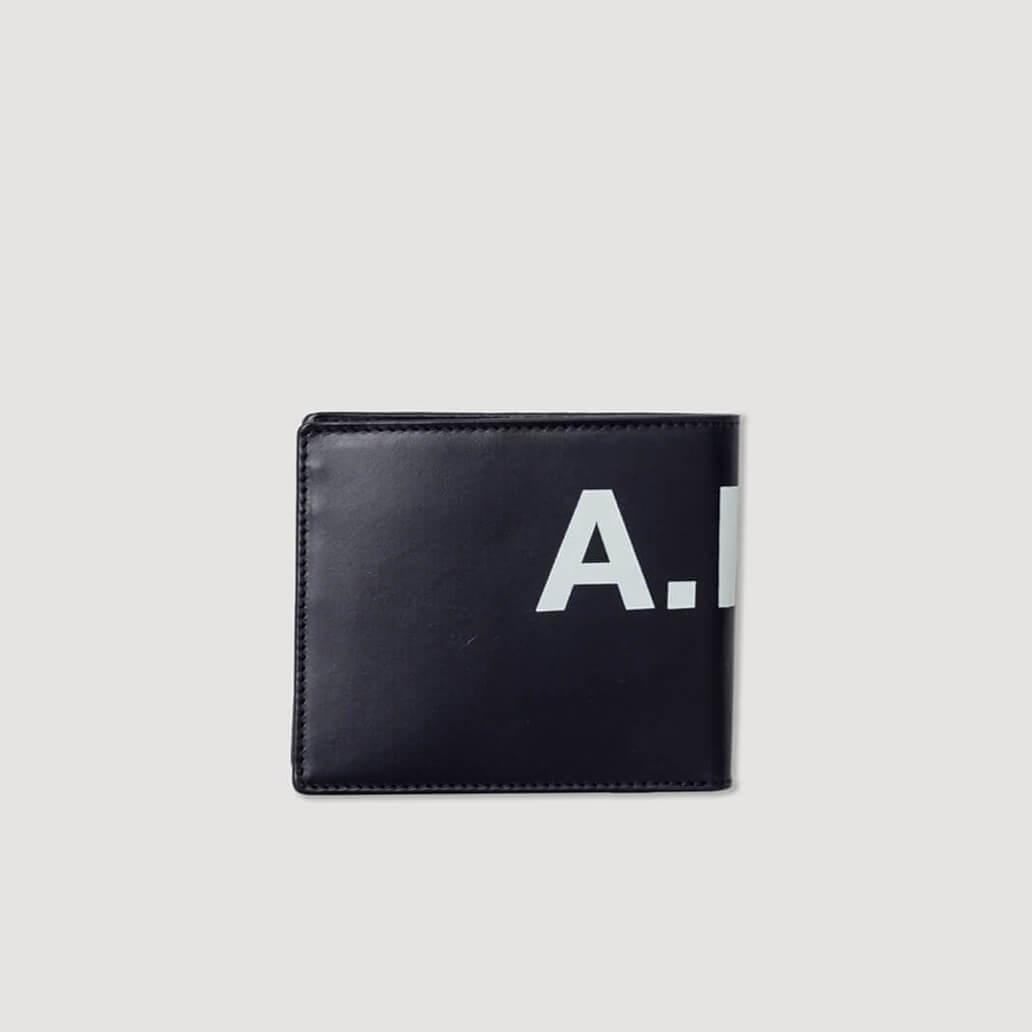 Transversal Aly Logo Wallet - Noir