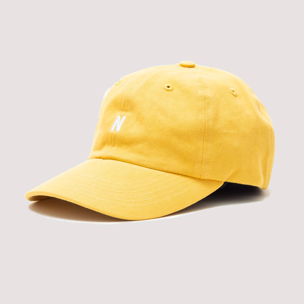 Twill Sports Cap - Sunwashed Yellow