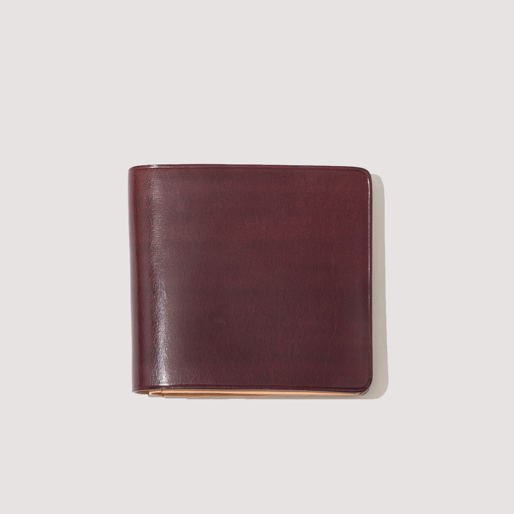 Wallet with Coin Pouch - Bordeaux