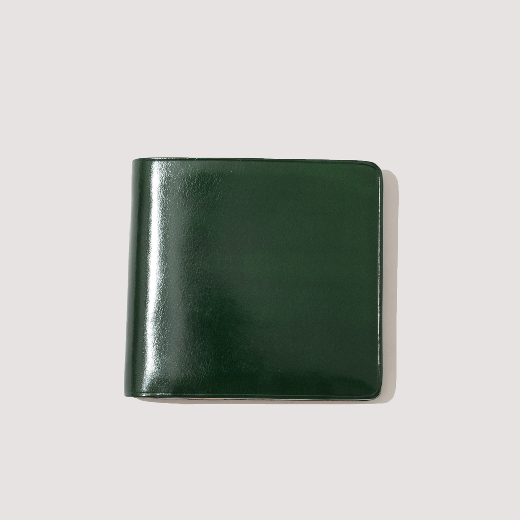 Wallet with Coin Pouch - Dark Green