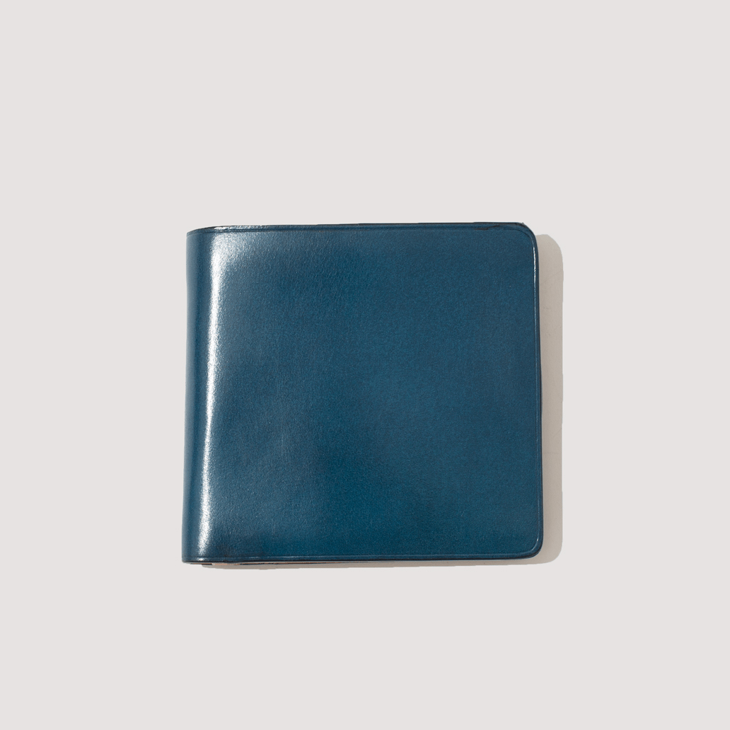 Wallet with Coin Pouch - Navy Blue