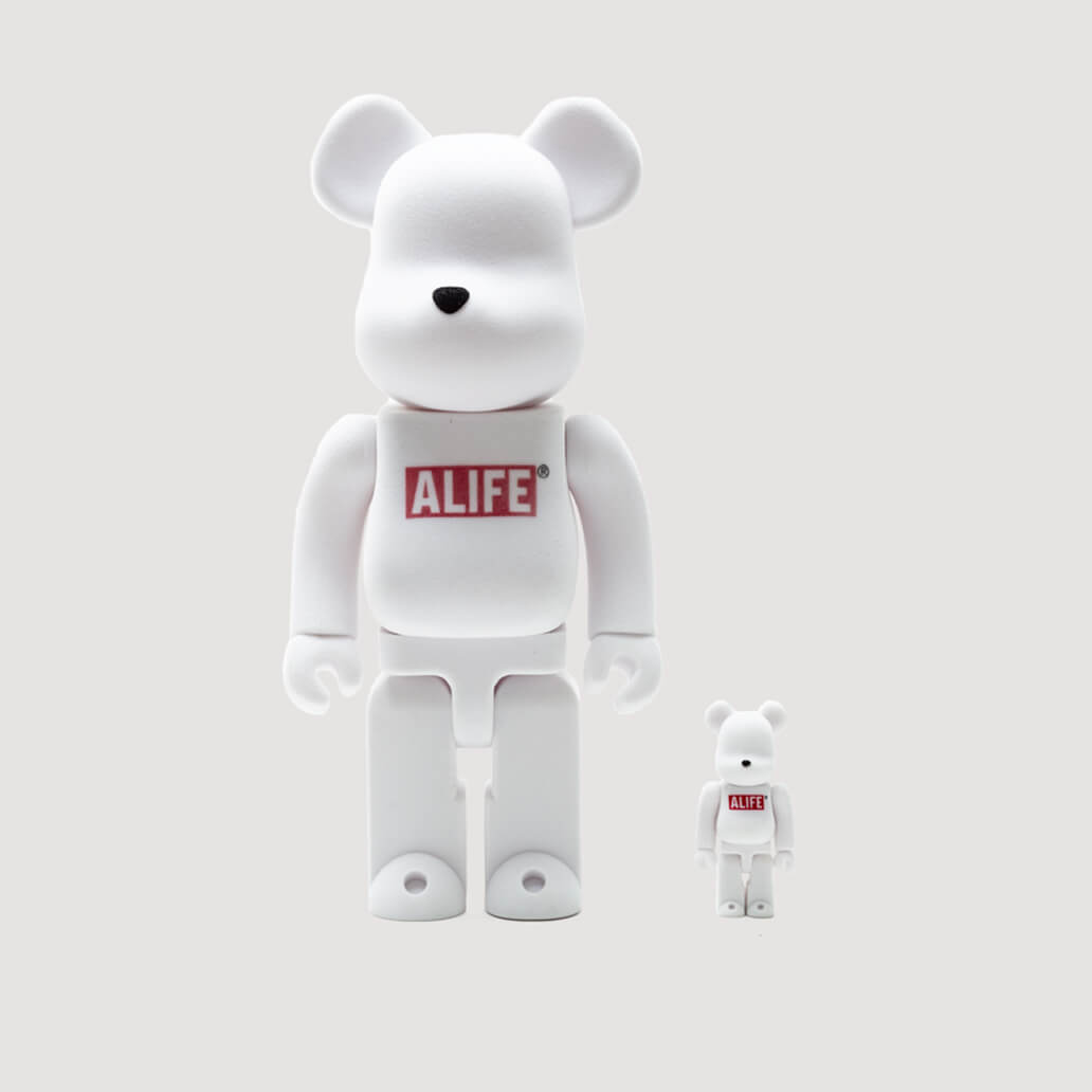 X Alife Be@rbricks 100% and 400%