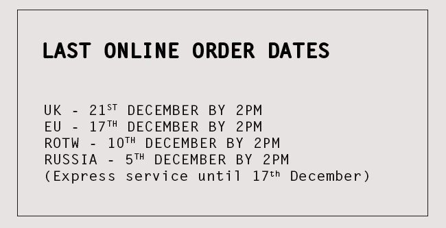 Last Online Orders